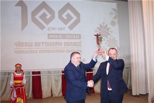 Порецкий район принял эстафету фестиваля муниципальных образований «Марафон 100-летия»