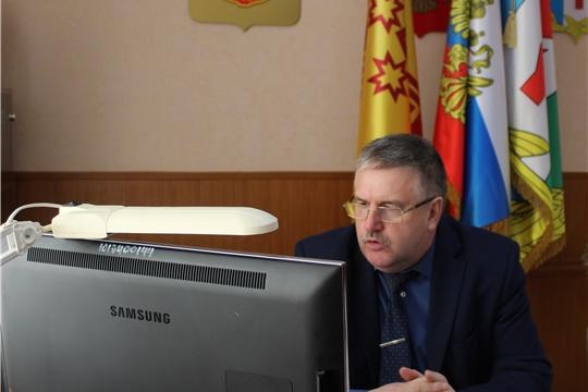 Совещание в режиме видеоконференции с главами сельских поселений
