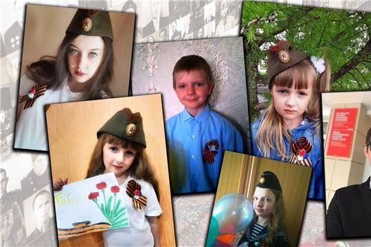 Работники культуры Порецкого района присоединились к акции «Георгиевская ленточка»