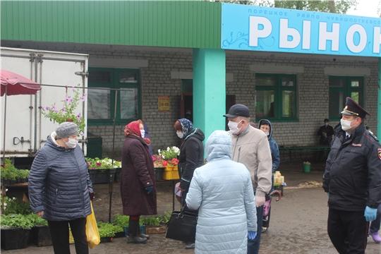 В Порецком районе продолжаются рейдовые мероприятия мобильных групп