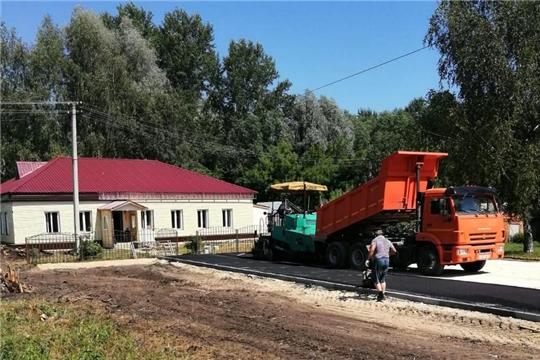 В рамках ремонта Анастасовского сельского клуба ведется благоустройство террритории