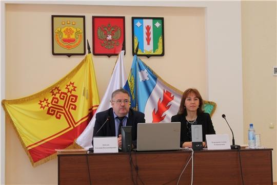 Встреча министра труда и социальной зашщиты Чувашской Республики Алены Елизаровой с представителями подведомственных организаций в Порецком районе