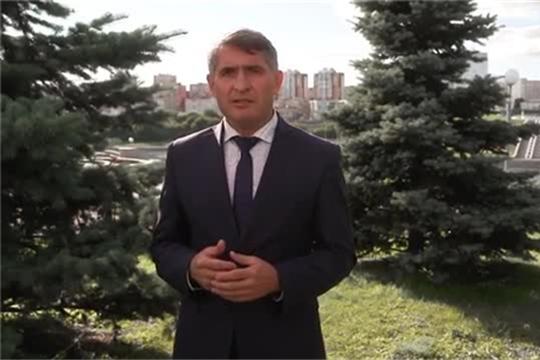 Поздравление врио главы Чувашской Республики Олега Николаева с Днем села Порецкое