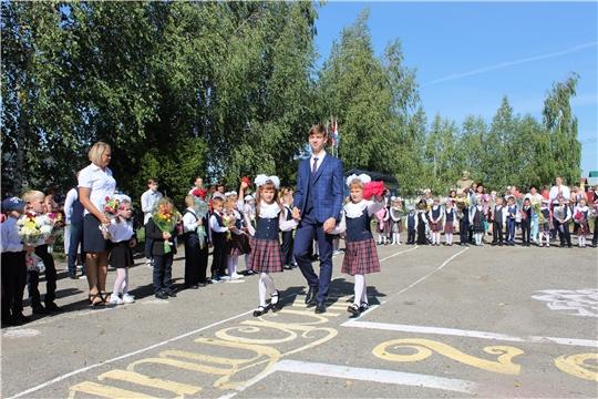 Звонок, прозвучавший на торжественных линейках в школах Порецкого района, возвестил о начале нового учебного года