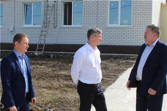 Порецкий район посетил министр строительства, архитектуры и жилищно-коммунального хозяйства Чувашии Александр Героев