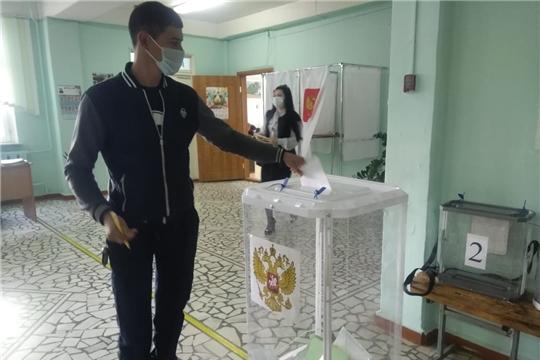 В Порецком районе началось голосование по выборам Главы Чувашской Республики и в органы местного самоуправления