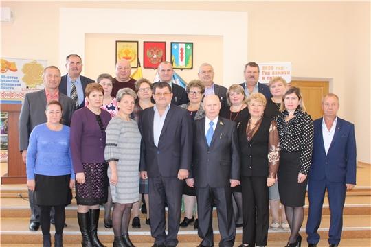 Первое заседание Собрания депутатов Порецкого района VII созыва