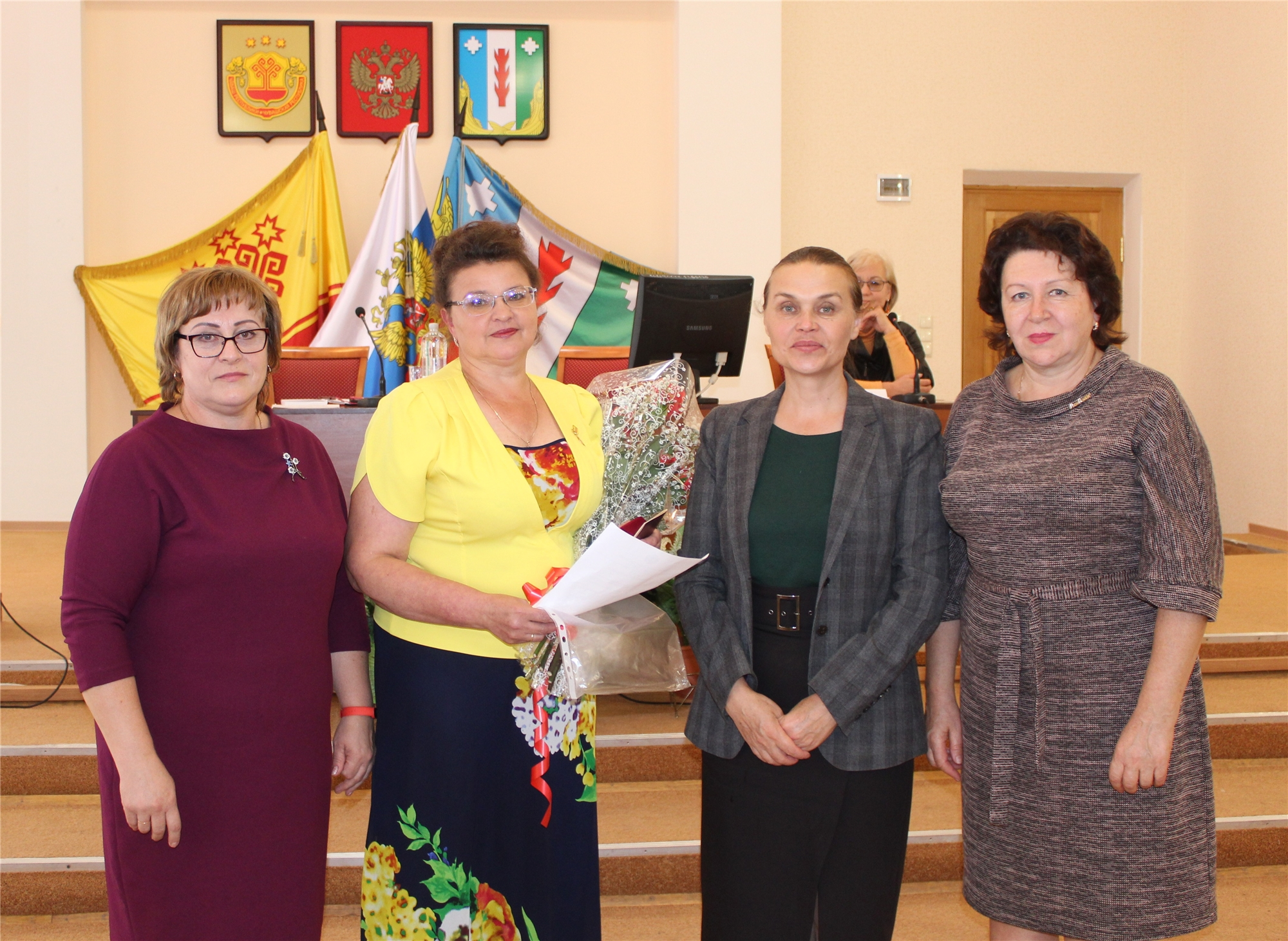 Министр культуры, по делам национальностей и архивного дела Чувашской Республики Роза Лизакова посетила Порецкий район