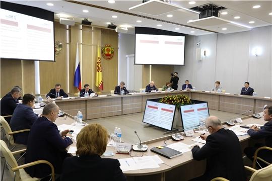 Заседание Оперативного штаба по экономическим вопросам в Чувашской Республике