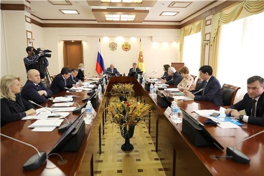 Заседание Высшего экономического совета Чувашской Республики 24.04.2020