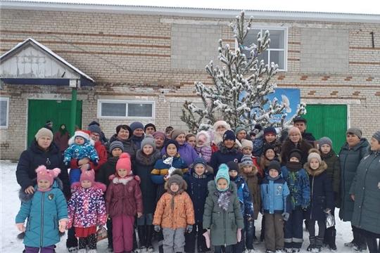 Рождественский праздник в Андреевском сельском клубе