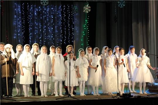 В Шемуршинском районе состоялся районный фестиваль «Рождественская звезда - 2020»
