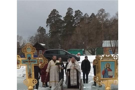 Светлый праздник Крещения Господне в Шемуршинском районе