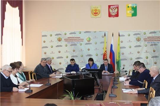Состоялось очередное тридцать четвертое  заседание Шемуршинского районного Собрания депутатов третьего созыва
