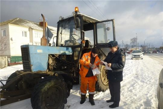 Операция «Снегоход» в Шемуршинском районе