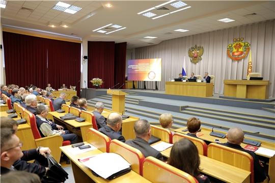 Глава администрации Шемуршинского района принял участие в подведении итогов деятельности экстренных служб Чувашии за минувший год