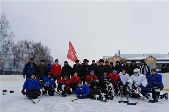 Состоялся традиционный хоккейный турнир в честь вывода войск из Афганистана