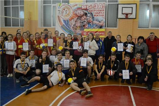 Муниципальный этап Школьной волейбольной лиги среди общеобразовательных учреждений Шемуршинского района