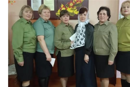 Женский ансамбль «Шанчак» принял участие в районном конкурсе