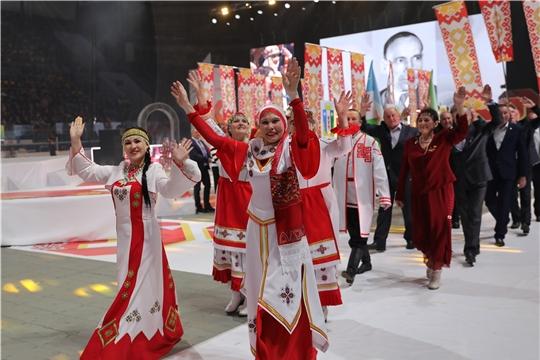 Шемуршинский район принял участие в открытии празднования 100-летия образования Чувашской автономии