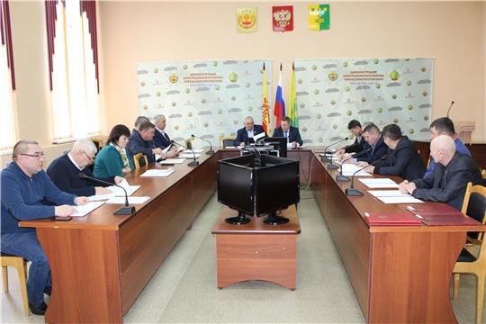 Внеочередное 35 заседание Шемуршинского районного Собрания депутатов