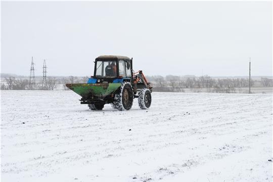 Весенне-полевые работы в Шемуршинском районе