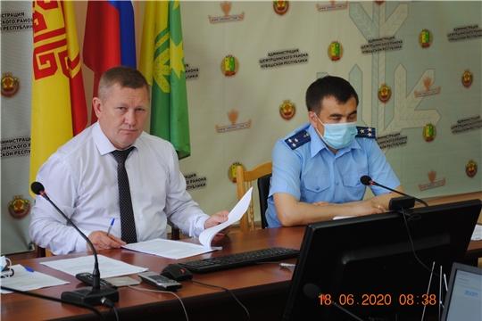 Состоялось заседание антинаркотической комиссии при администрации Шемуршинского района