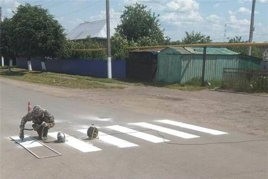 Обновление разметок пешеходных переходов