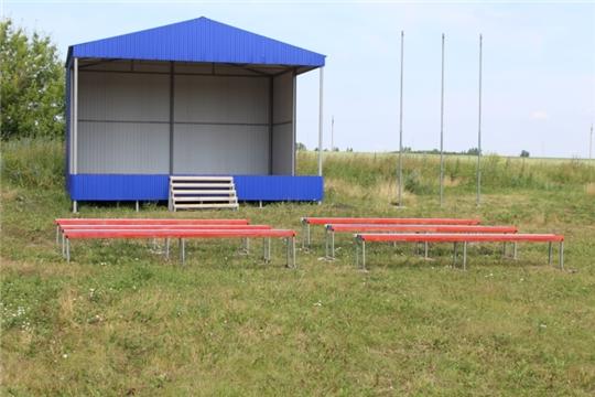 Благоустройство территории стадиона в д.Малое Буяново