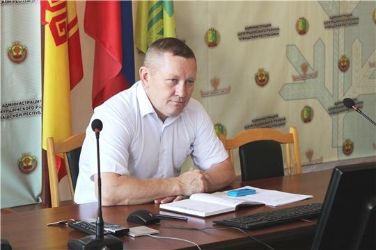 В администрации Шемуршинского района состоялась еженедельная планерка