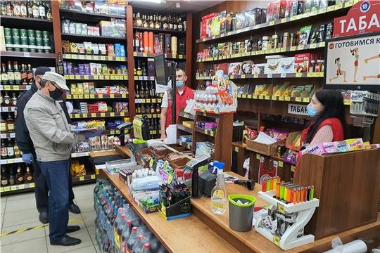 Рейд мобильной группы по торговым объектам Шемуршинского района