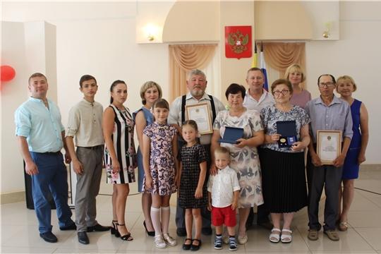 В Шемуршинском районе состоялось торжественное вручение общественной награды - медали «За любовь и верность»