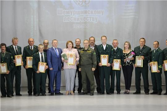 Шемуршинскому лесхозу 95 лет