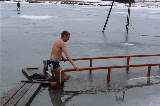 В Шумерлинском районе проходят Крещенские купания