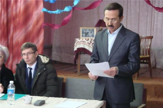 Отчет главы   Русско-Алгашинского сельского поселения
