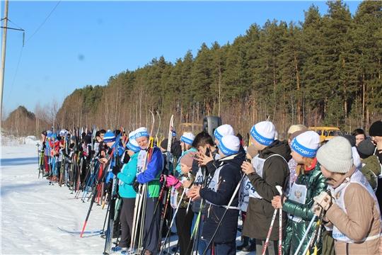 Шумерлинский район присоединился к Всероссийской  массовой  лыжной  гонке «Лыжня России-2020»