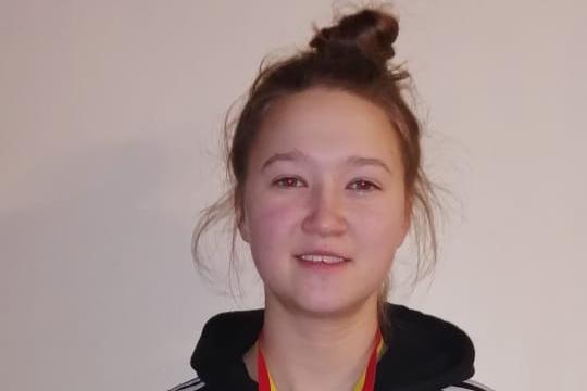Ученица Ходарской СОШ победительница  в первенстве Чувашской Республики по боксу