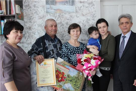Семья Михайловых принимает поздравления с 45-летием совместной жизни