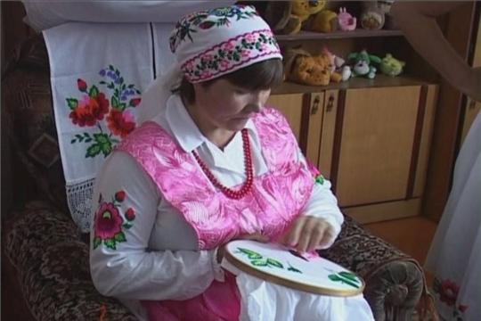 Рассказ о вышивальщице из с. Юманаи