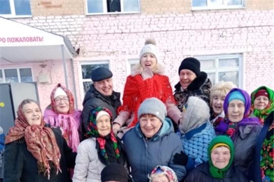 Жители Магаринского сельского поселения отпраздновали Широкую Масленицу
