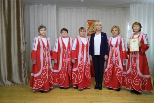 """Праздничное мероприятие  """"Ах,какие женщины"""" в Краснооктябрьском сельском клубе"""