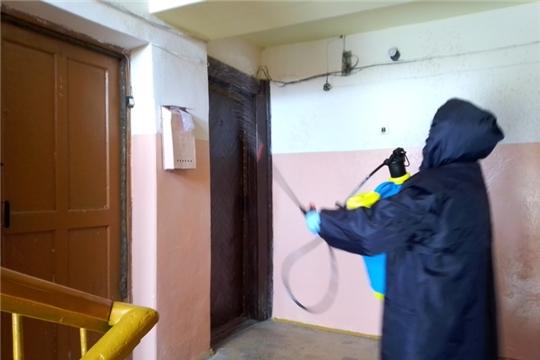 В Магаринском сельском поселении проводятся работы по дезинфекции мест общего пользования