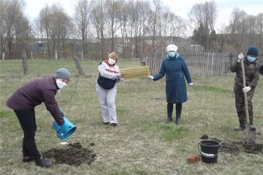 Шумерлинское сельское поселение присоединилось к Международной акции «Сад памяти»
