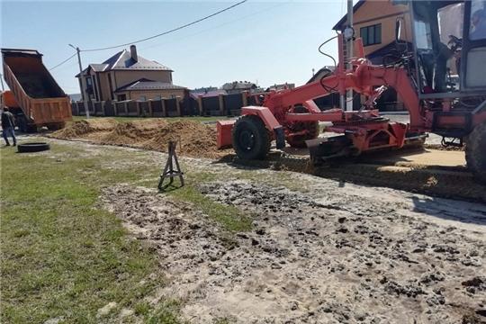 Строительство грунтовой дороги по ул. Сосновая в д. Шумерля