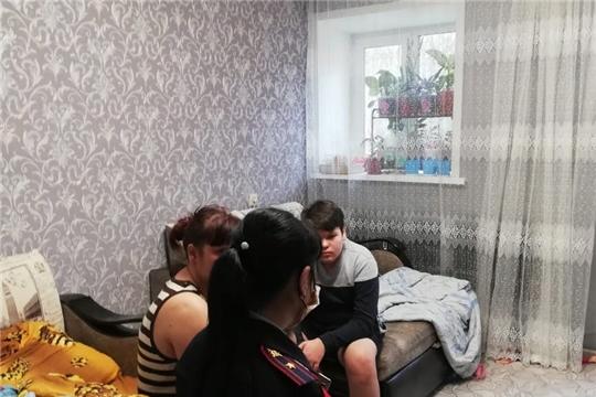 В Шумерлинском районе продолжаются рейды по несовершеннолетним и семьям