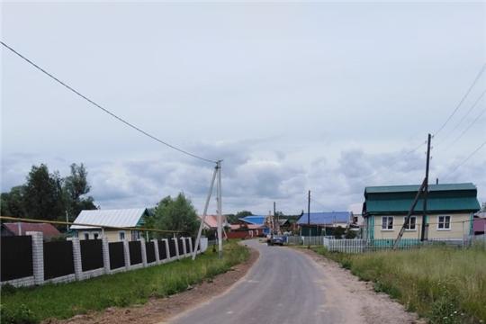 В Нижнекумашкинском сельском поселении завершился ремонт автомобильных дорог