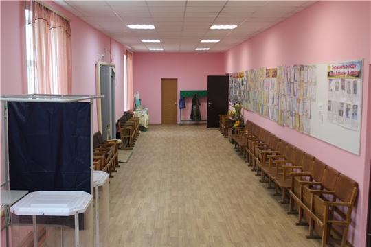 В Большеалгашинском сельском клубе завершены ремонтные работы