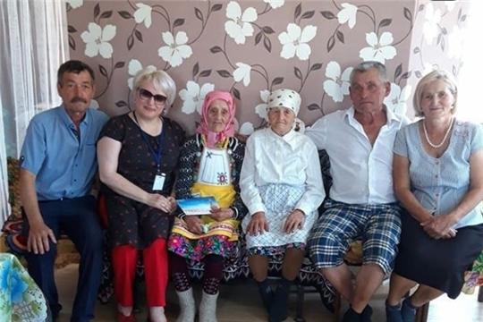 Жительница Шумерлинского района отметила 100 - летний юбилей