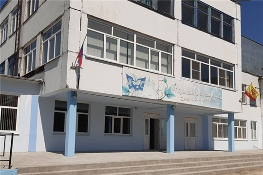 """В  МБОУ """"Алгашинская СОШ"""" завершаются ремонтные работы"""
