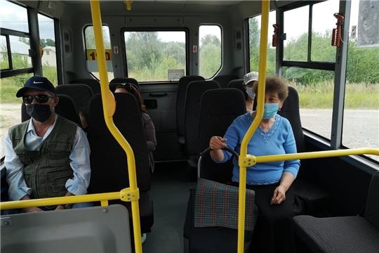 В  районе продолжаются рейды по проверке рейсов пассажирских автобусов.